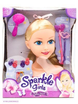 Кукла  для причесок с аксессуарами Funville. Цвет: фиолетовый, красный, розовый