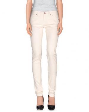 Повседневные брюки NICWAVE. Цвет: слоновая кость