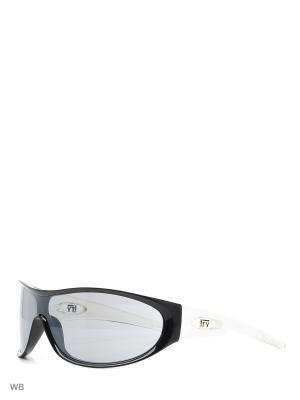 Солнцезащитные очки TS 414 05 SAMPLES TRY. Цвет: прозрачный, черный