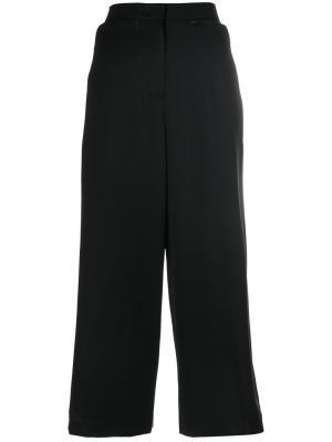 Укороченные широкие брюки Juun.J. Цвет: чёрный