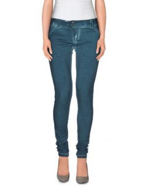 Повседневные брюки CLARK JEANS. Цвет: цвет морской волны