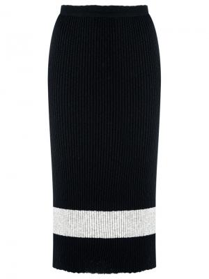 Ribbed knit midi dress Gig. Цвет: чёрный