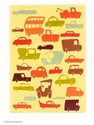 Обложка для автодокументов Час-пик Mitya Veselkov. Цвет: желтый, зеленый, красный