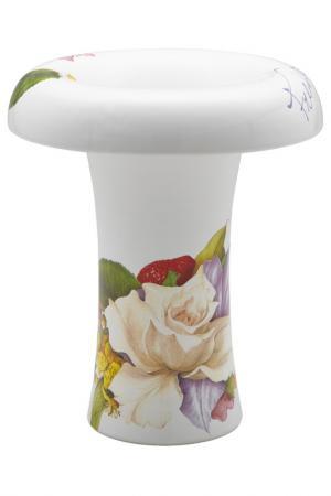 Ваза для цветов Фреско 26 см Ceramiche Viva. Цвет: мультиколор