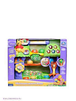 Развивающая игрушка Дерево Винни Vtech. Цвет: зеленый (осн.), желтый