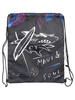Мешок для обуви.Maui and Sons MAUI. Цвет: белый, голубой, черный