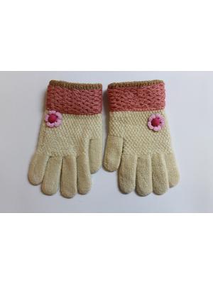 Перчатки Cascatto. Цвет: бежевый