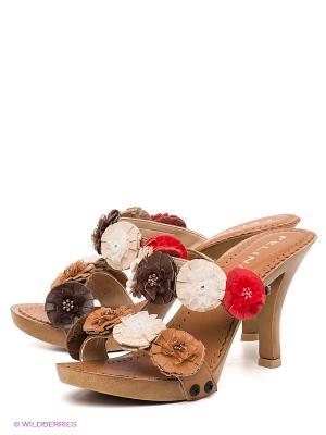 Сабо Felina shoes. Цвет: коричневый