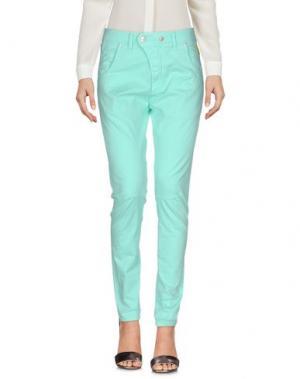 Повседневные брюки MELTIN POT. Цвет: светло-зеленый