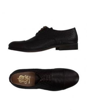 Обувь на шнурках VIA DEI CALZAIUOLI. Цвет: темно-коричневый