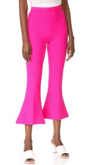 Расклешенные брюки Antonio Berardi. Цвет: розовый фуксия