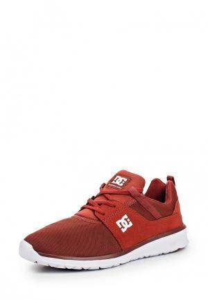 Кроссовки DC Shoes. Цвет: красный