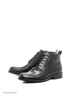 Ботинки BIRMINGHAM ECCO. Цвет: черный