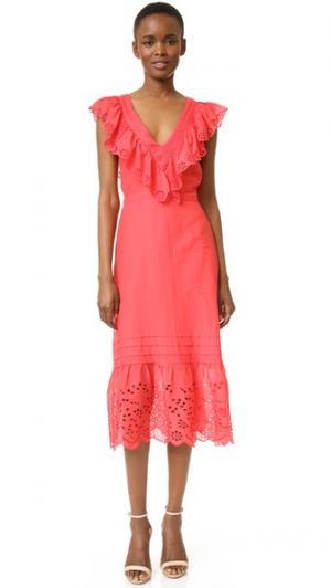 Платье Maria St. Roche. Цвет: красный