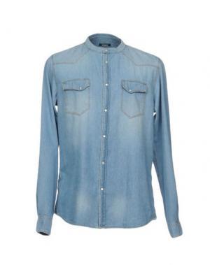Джинсовая рубашка OFFICINA 36. Цвет: синий