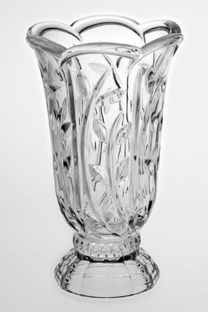 Ваза, 22 см Crystalite Bohemia. Цвет: прозрачный