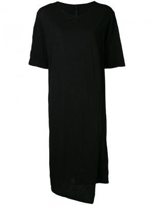 Двухслойное платье  Forme Dexpression D'expression. Цвет: чёрный