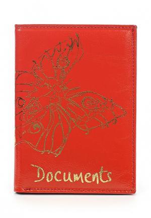 Обложка для документов Franchesco Mariscotti. Цвет: оранжевый