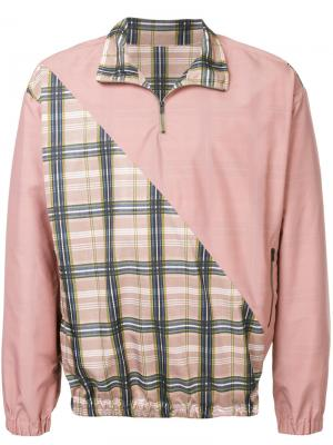 Куртка Moscow Zambesi. Цвет: розовый и фиолетовый