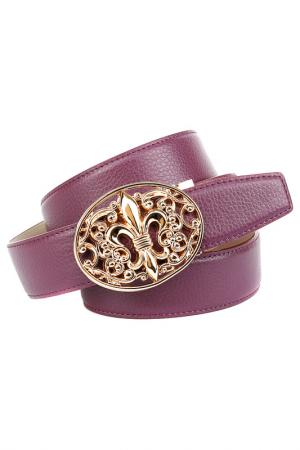 Ремень Anthoni Crown. Цвет: фиолетовый