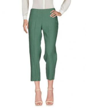 Повседневные брюки STEFANO MORTARI. Цвет: зеленый