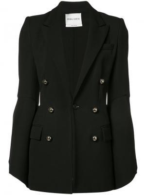 Double breasted tailored jacket Prabal Gurung. Цвет: чёрный