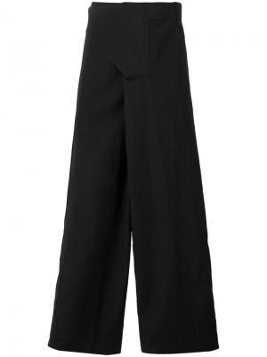 Широкие брюки Yang Li. Цвет: чёрный