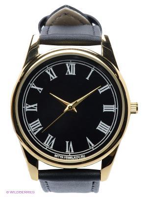 Часы Mitya Veselkov Куранты. Цвет: черный