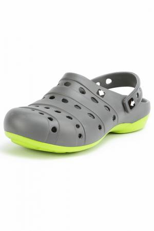 Туфли прогулочные GOW. Цвет: серый