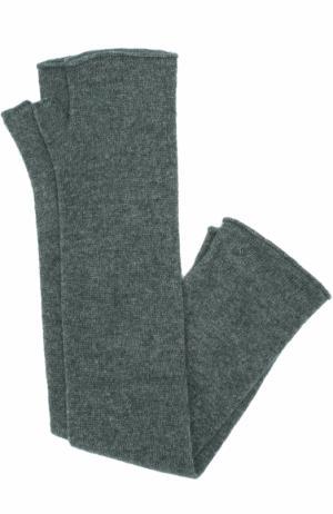 Удлиненные кашемировые митенки Tegin. Цвет: разноцветный