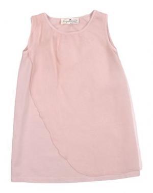 Платье LE PETIT COCO. Цвет: розовый