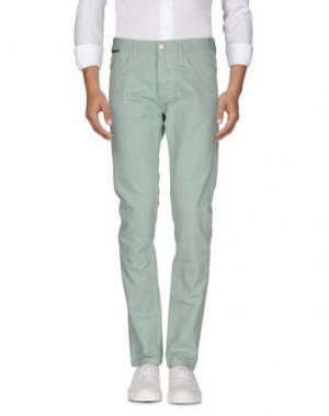 Джинсовые брюки MARC JACOBS. Цвет: светло-зеленый