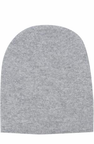 Кашемировая шапка Tegin. Цвет: серый