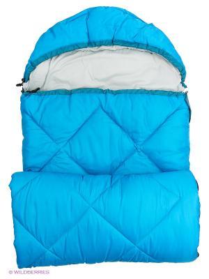 Спальный мешок Larsen. Цвет: голубой