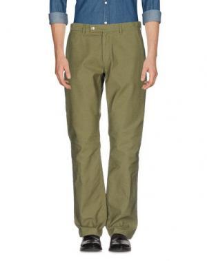 Повседневные брюки BATTENWEAR. Цвет: зеленый-милитари
