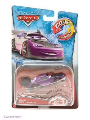 Машинка из серии Disney Cars Mattel. Цвет: фиолетовый, белый, черный