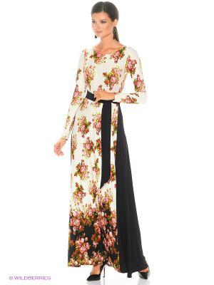 Длинное платье Русское поле ANASTASIA PETROVA