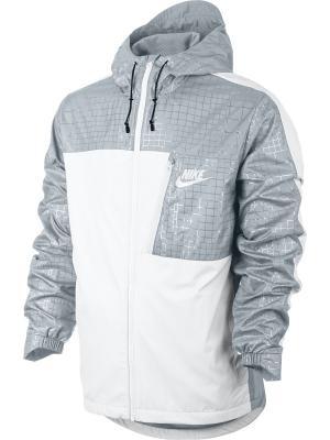 Ветровка M NSW AV15 JKT HD WVN WNGR Nike. Цвет: белый