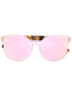 Солнцезащитные очки  с круглой оправой Karen Walker Eyewear. Цвет: многоцветный