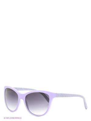 Солнцезащитные очки TOUCH. Цвет: сиреневый