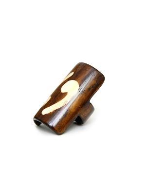 Кольцо Indira. Цвет: коричневый