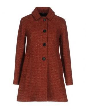 Пальто SEALUP. Цвет: красный