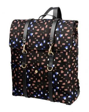 Рюкзаки и сумки на пояс MISMO. Цвет: черный