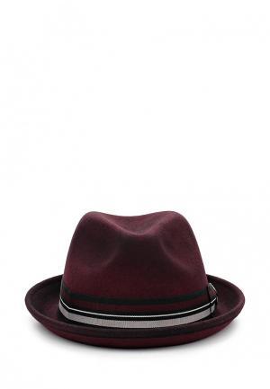 Шляпа Goorin Brothers. Цвет: бордовый