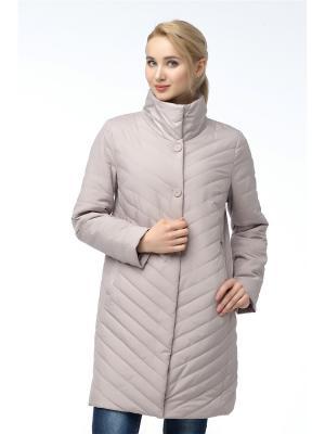 Куртка Alyaska. Цвет: темно-бежевый