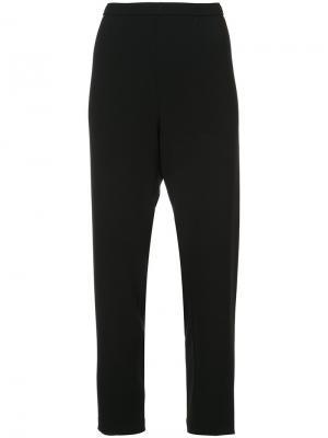 Зауженные брюки с завышенной талией Peter Cohen. Цвет: чёрный