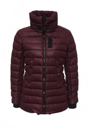Куртка утепленная G-Star. Цвет: бордовый