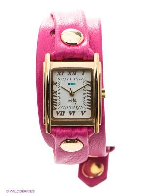 Часы La Mer Collections. Цвет: золотистый, фуксия