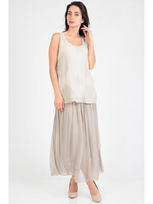 Блузка Amado Barcelona. Цвет: серый