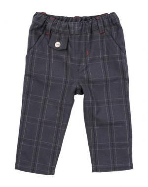 Повседневные брюки MIRTILLO. Цвет: свинцово-серый